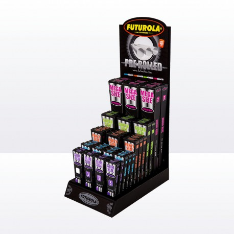 Pre-Rolled Display with Product