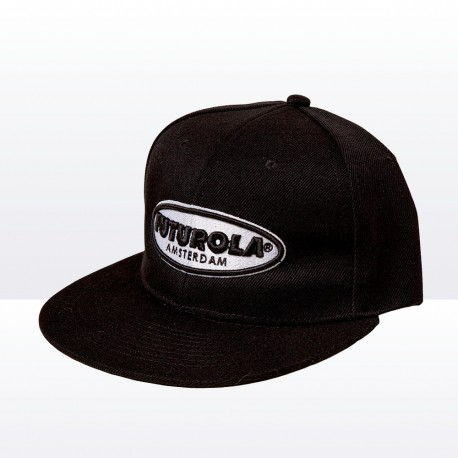 Cap with Black and White Logo