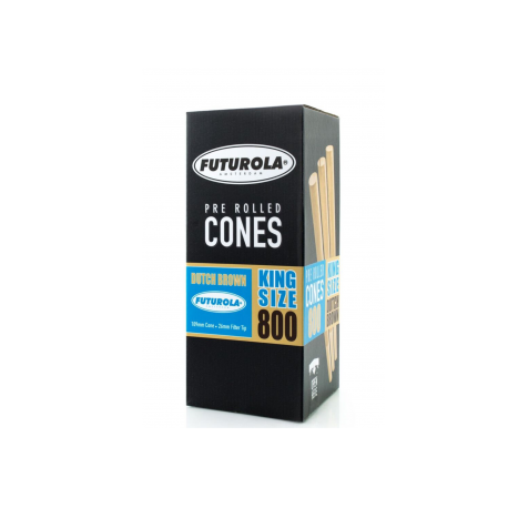 Pre-Rolled King Size Long Tip Cones 800 Pcs.